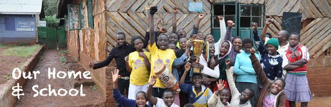 Weeshuis in Kenia
